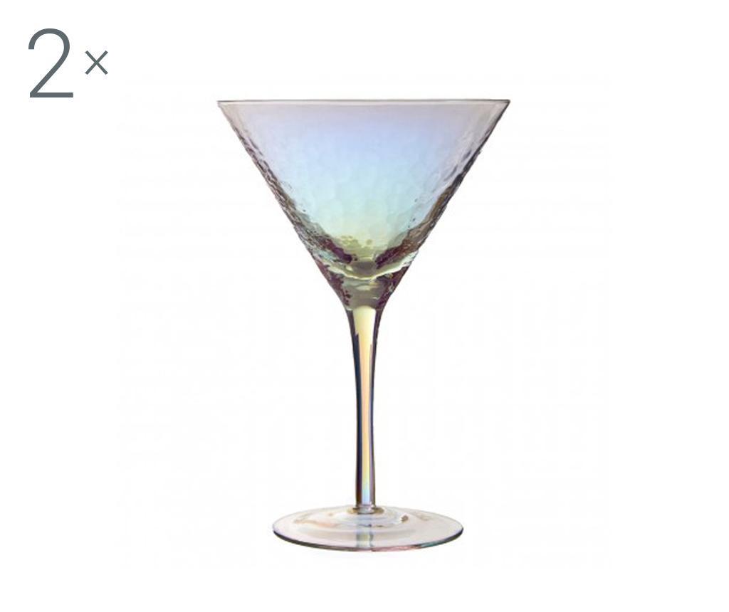 Set 2 kozarcev za koktajl Aurora Gradient 350 ml