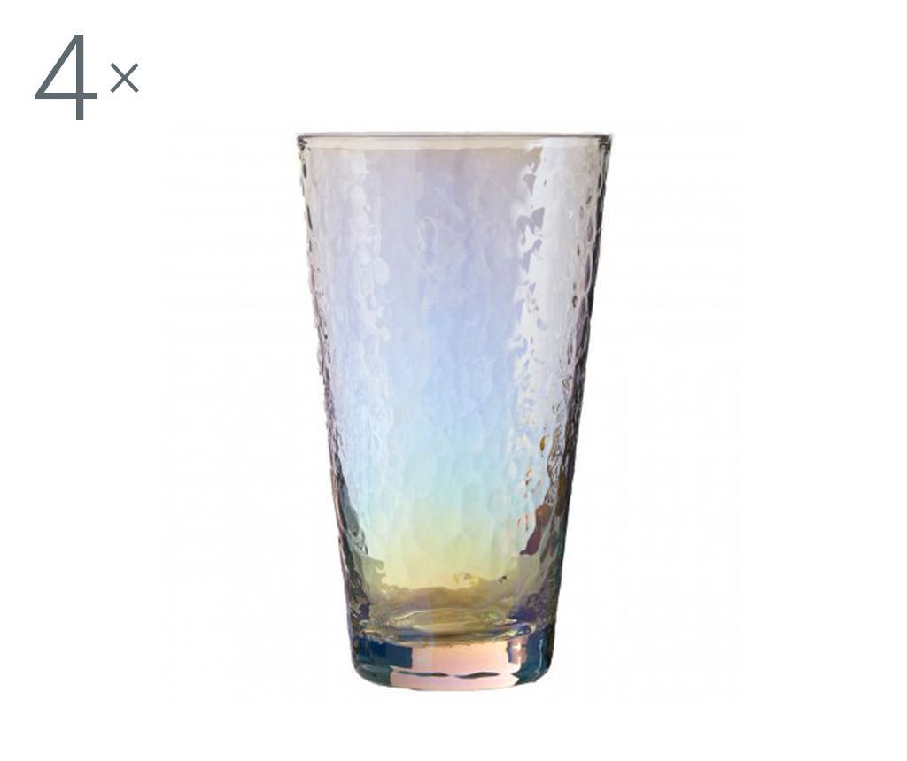 Set 4 kozarcev Aurora Gradient Highball 445 ml