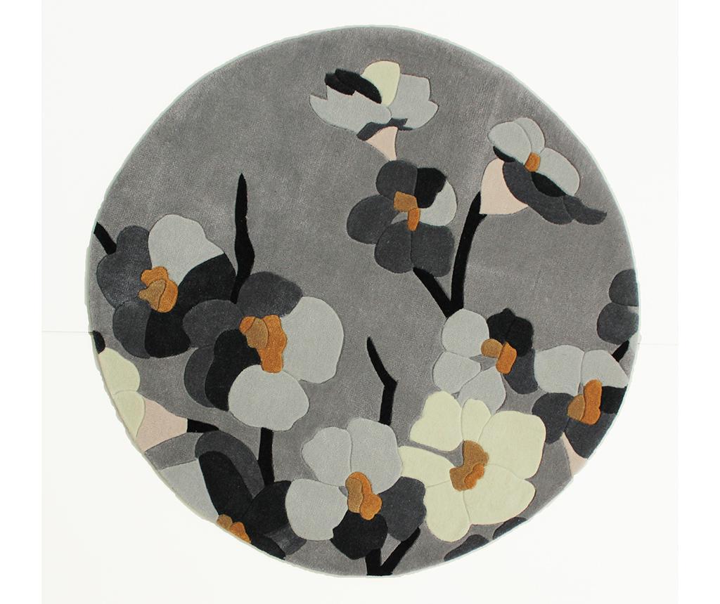 Tepih Blosson Grey 135 cm