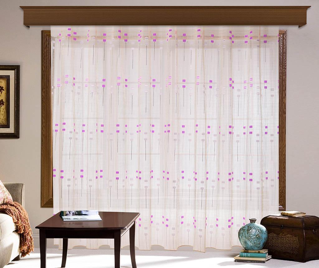 Esmeralda Pink Függöny 200x260 cm