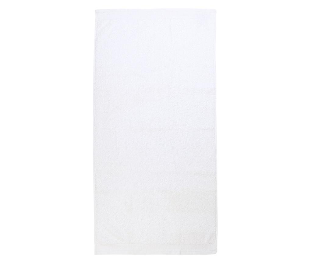 Kopalniška brisača Delta White 70x140 cm