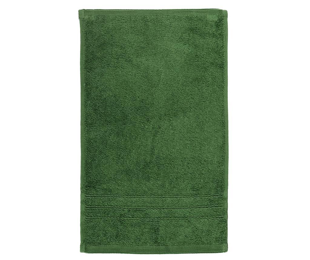 Prosop de baie Omega Moss Green 50x100 cm