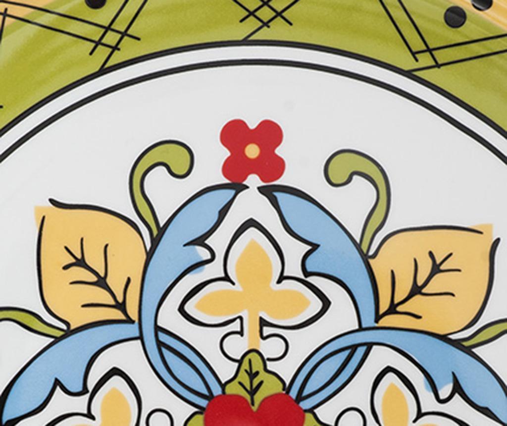 Set 4 servirnih krožnikov Fantasy