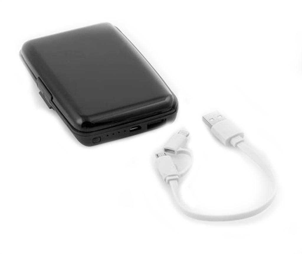 InnovaGoods Security Kártyatartó külső akkumulátorral okostelefonhoz