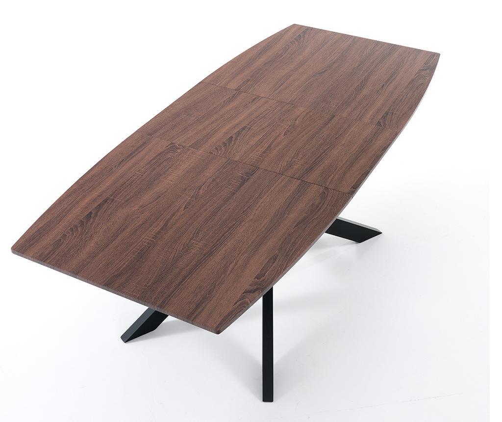 Raztegljiva miza Hics Dark