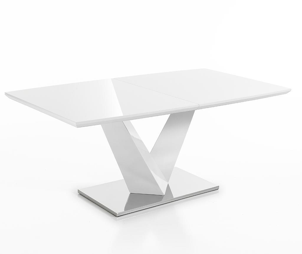 Valy White Kihúzható asztal
