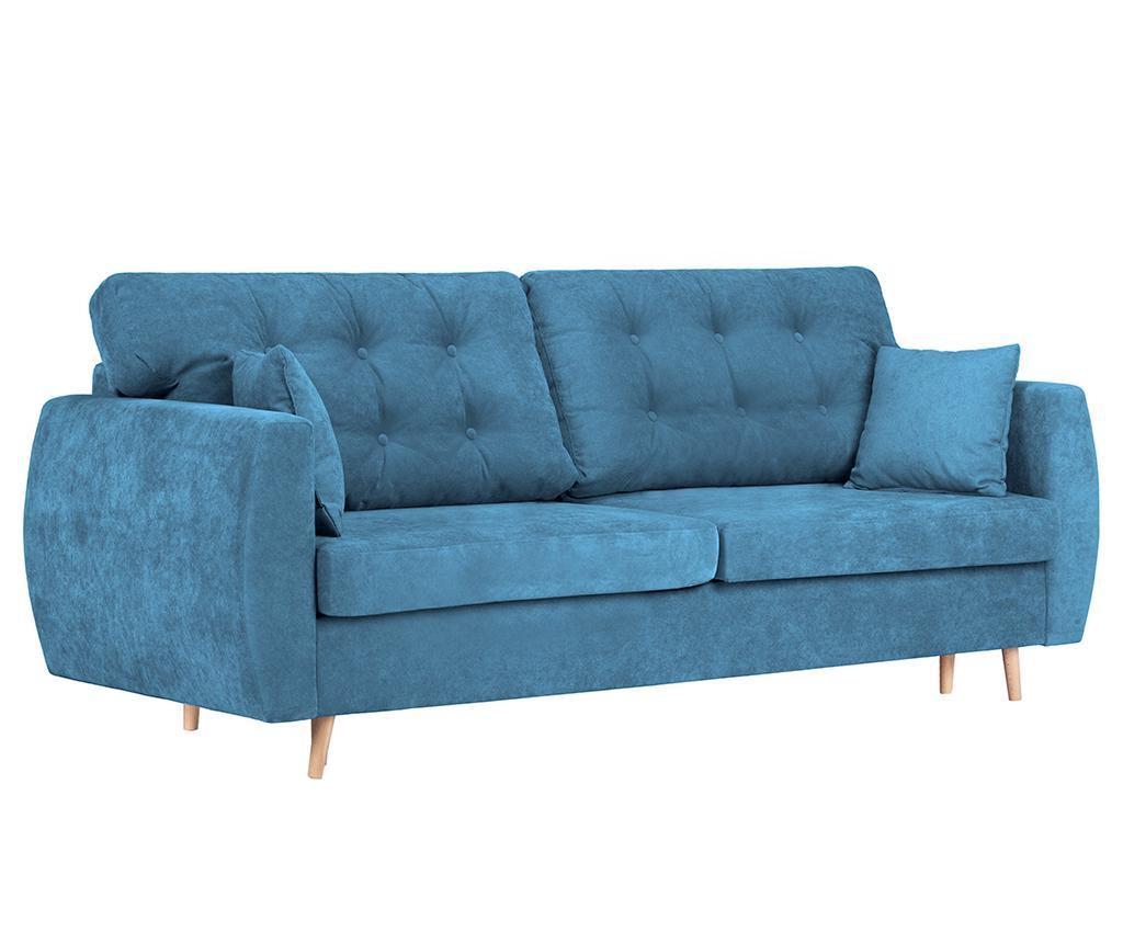 Canapea extensibila 3 locuri Amsterdam Blue