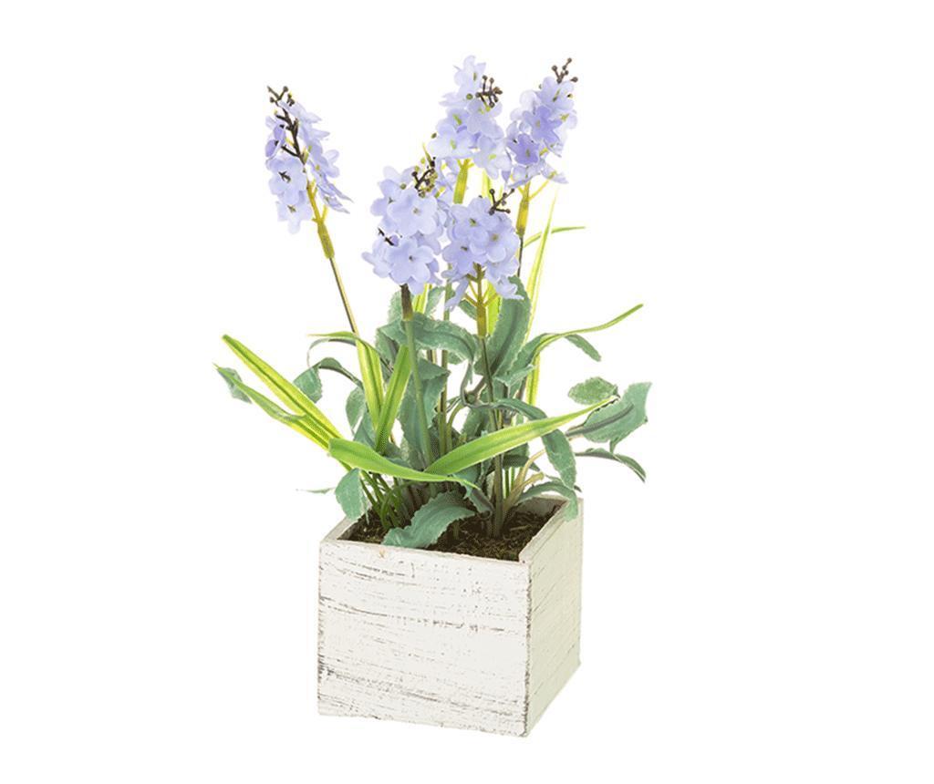Umjetna biljka u posudi Lavander Square Blue