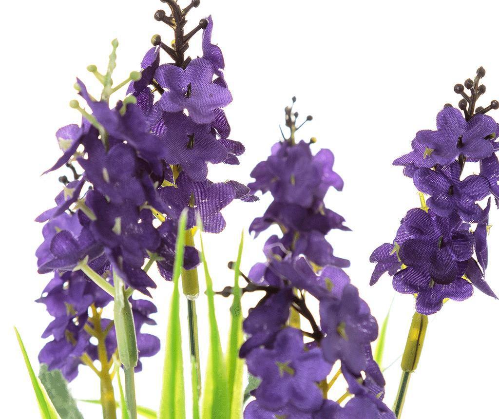 Umjetna biljka u posudi Lavander Square Purple