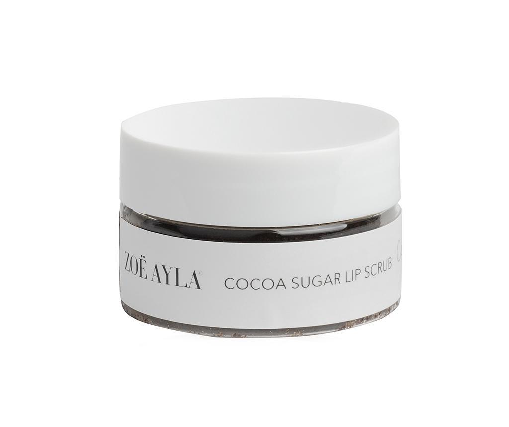 Exfoliant pentru buze Zoë Ayla's Cocoa Cutie 30 g