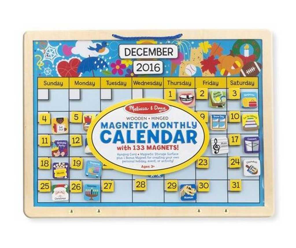 Calendar magnetic Activities