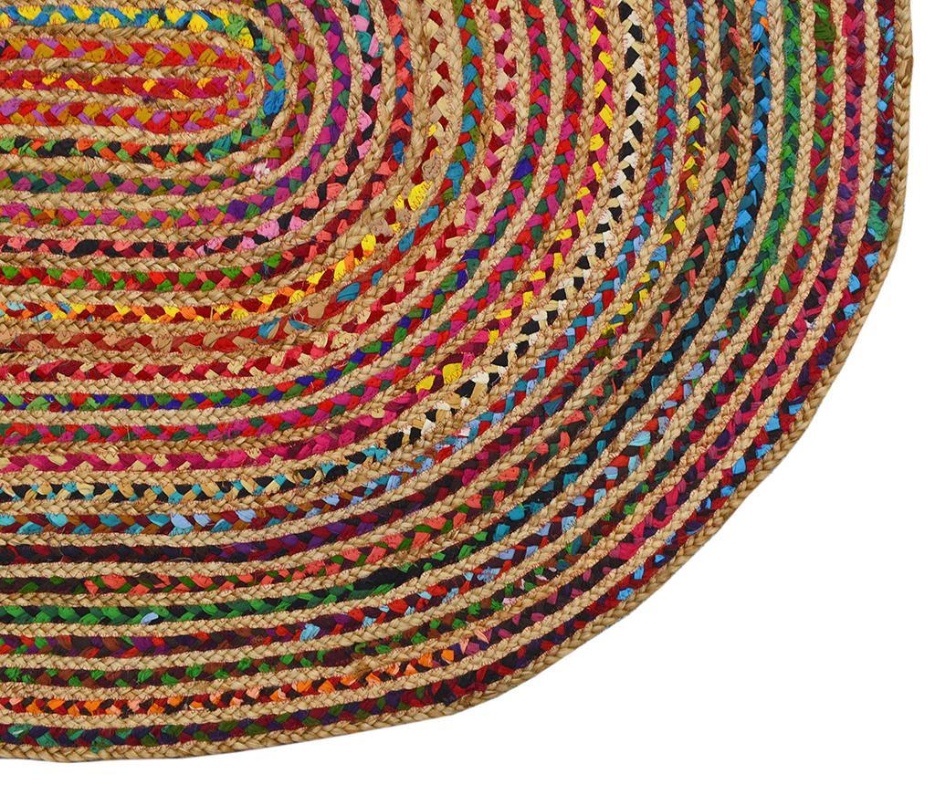 Covor Roberta Oval Multi 90x160 cm