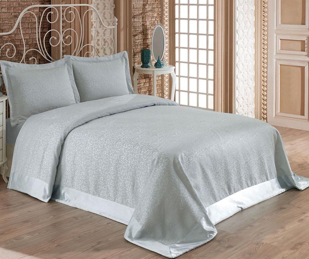 Set s posteljnim pregrinjalom Double Santana Mint