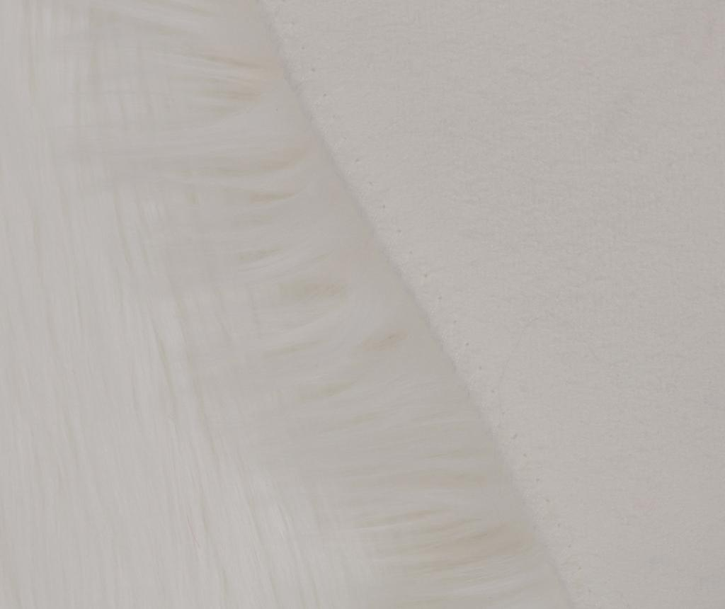 Covor Pelus White 75x100 cm