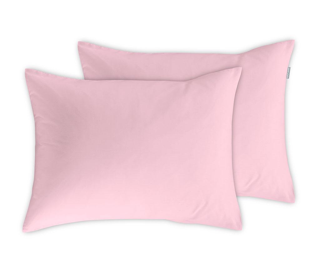 Set 2 jastučnice Casual Pink 50x75 cm