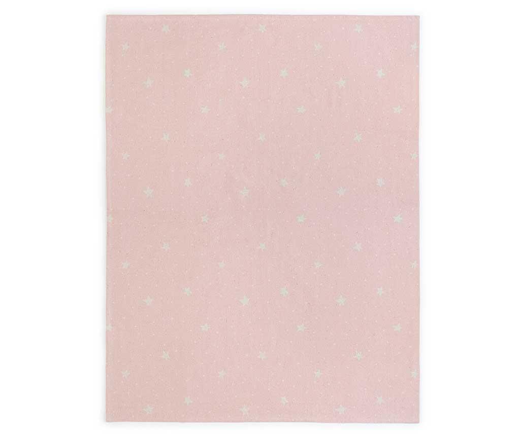Stars and Dots Pink Szőnyeg 120x160 cm