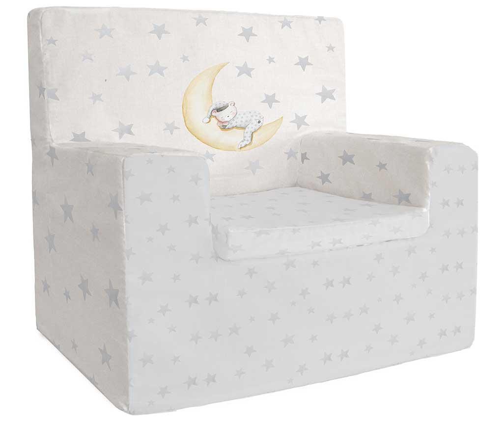 Dječja fotelja Marlon Night Grey