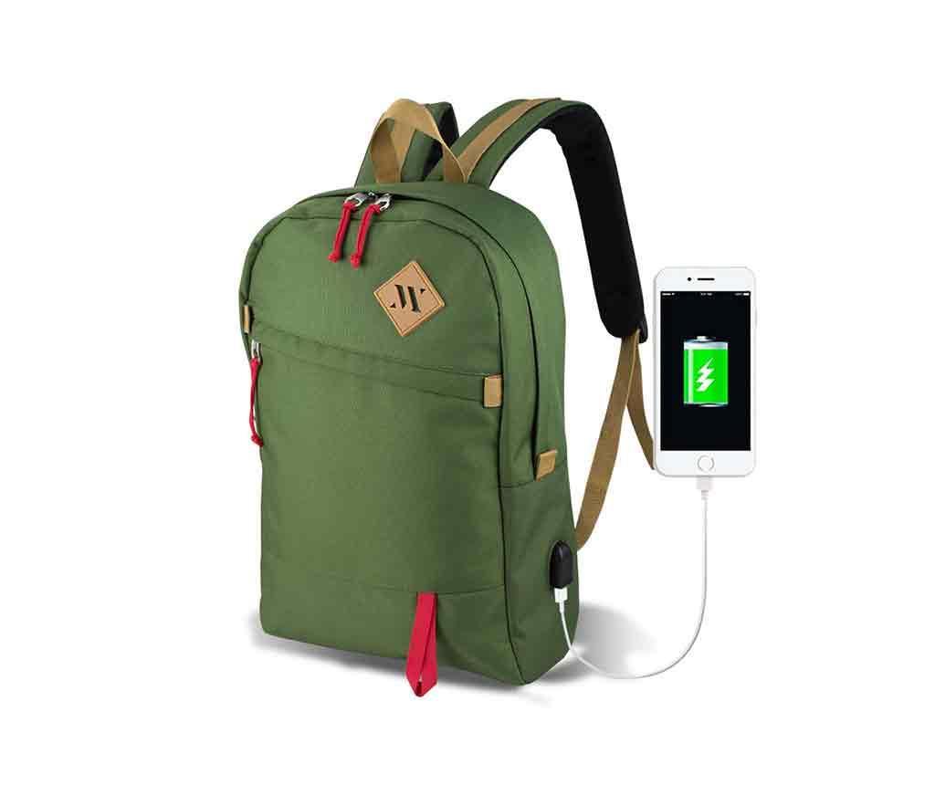 Rucsac USB Abily Green