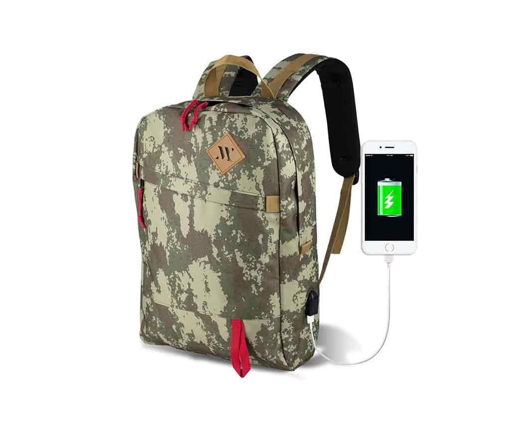 Nahrbtnik USB Abily Camouflage