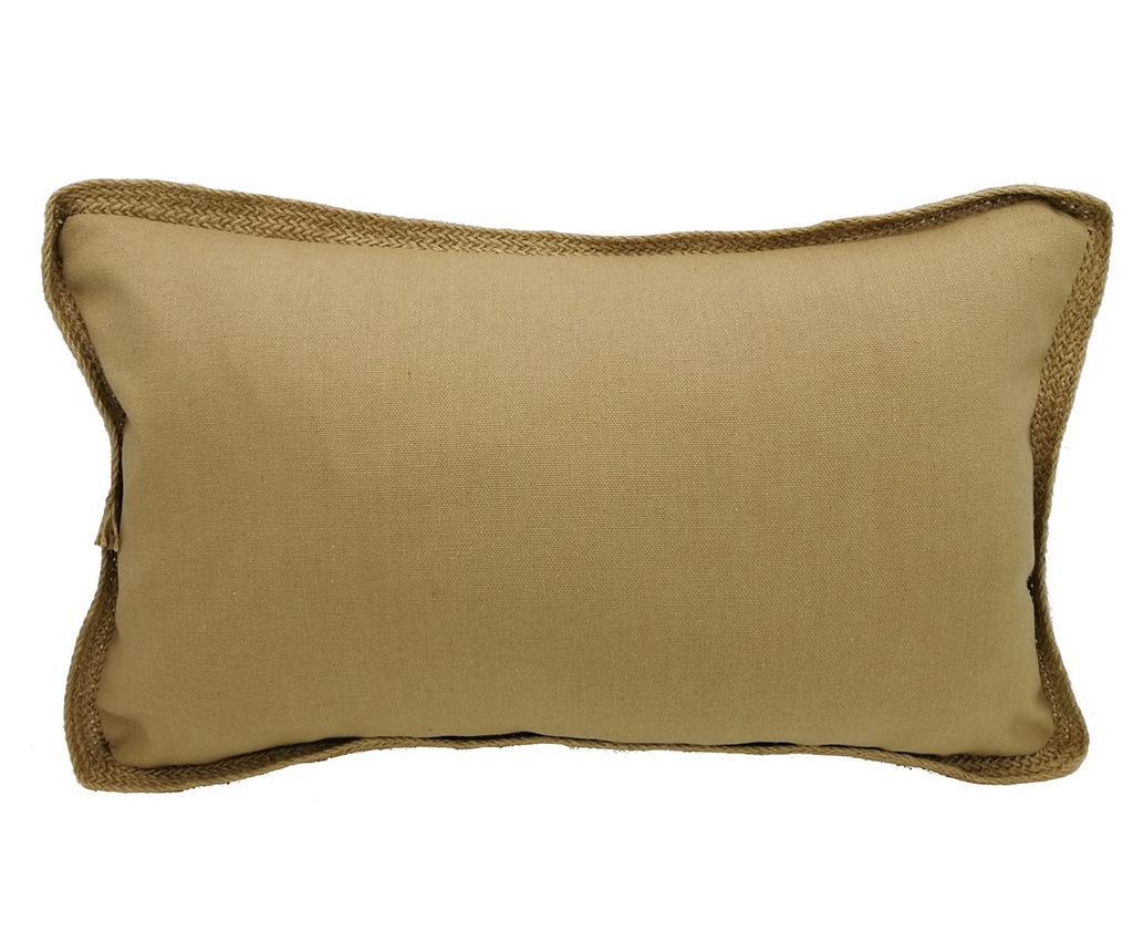 Perna decorativa Maeve Brown 30x50 cm