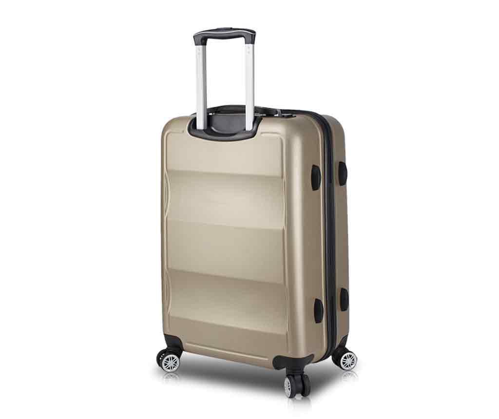 USB Hugh Gold Gurulós bőrönd