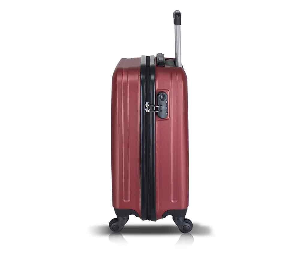 Kolieskový kufor Iuki Claret Red