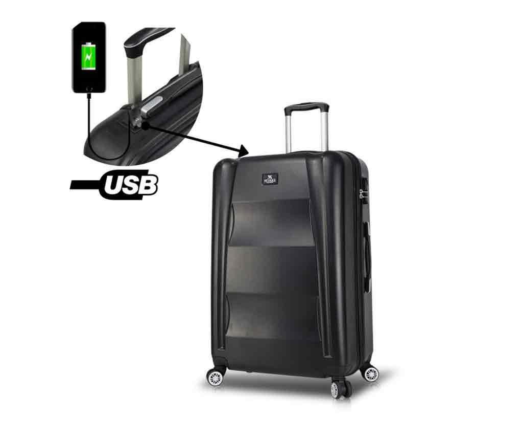 Troler USB Alden Black