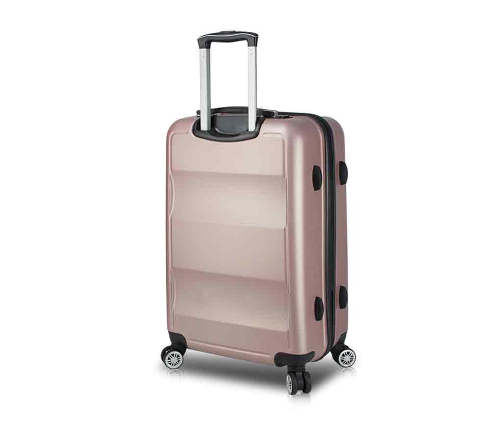 USB Alden Rose Gurulós bőrönd