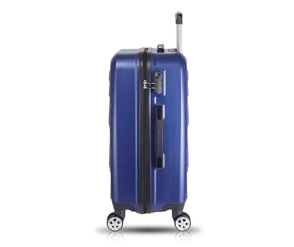 Kovček na kolesih Alice Dark Blue
