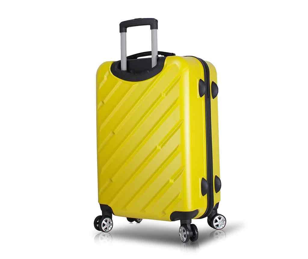 Kovček na kolesih Alice Yellow