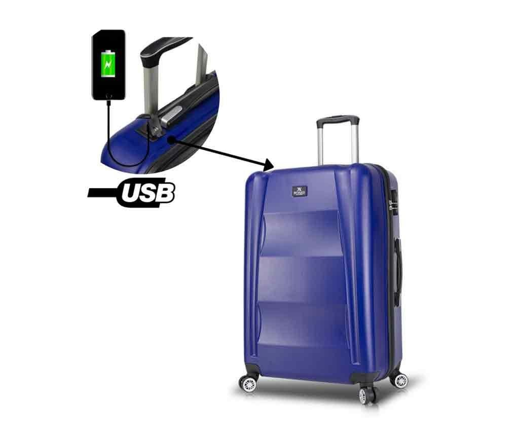 Troler USB Alden Dark Blue