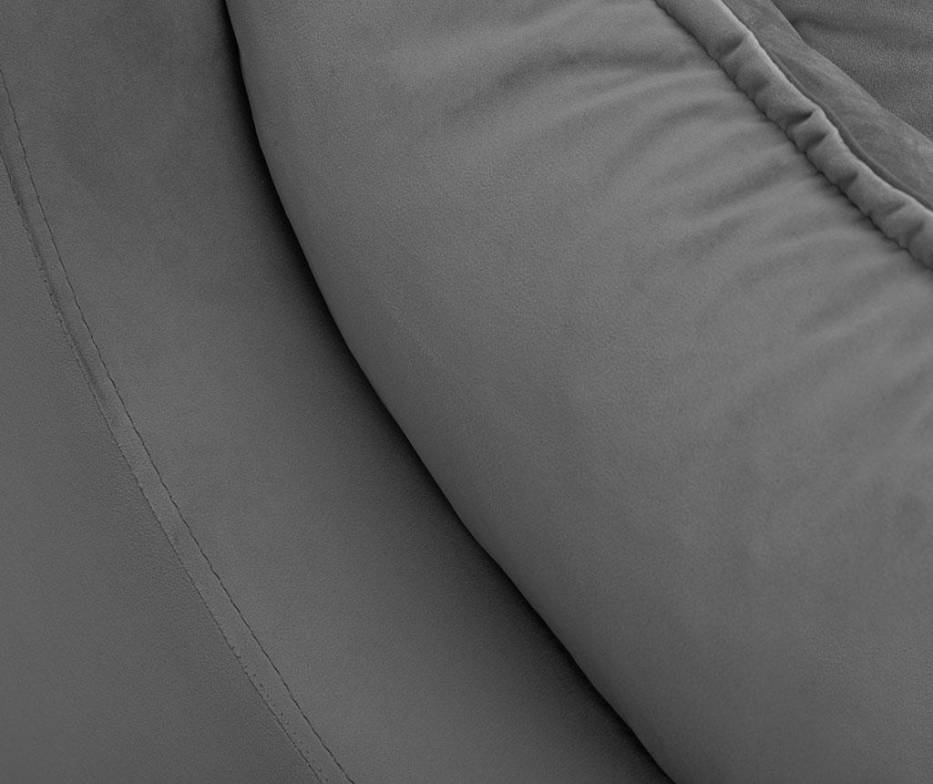 Canapea extensibila cu 3 locuri Freesia Grey