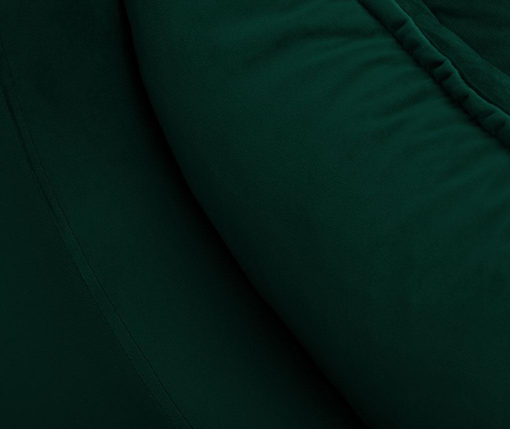 Разтегателно триместно канапе Freesia Bottle Green