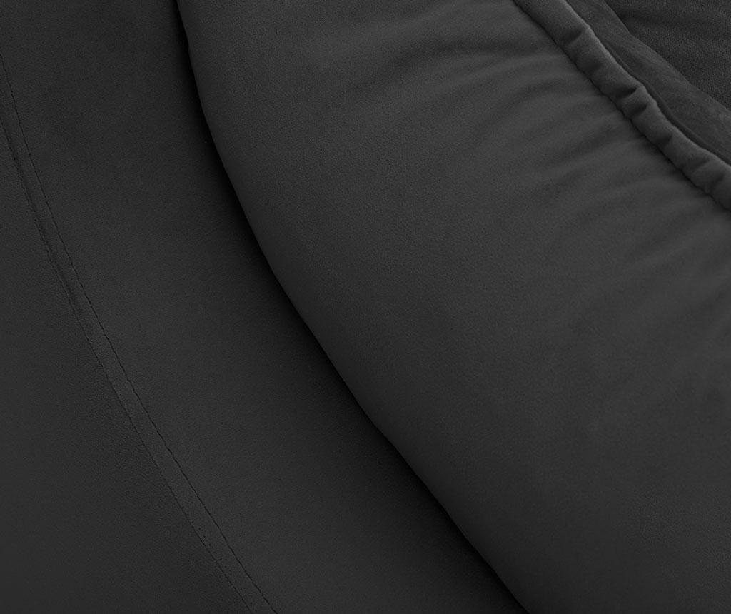 Разтегателно триместно канапе Freesia Dark Grey