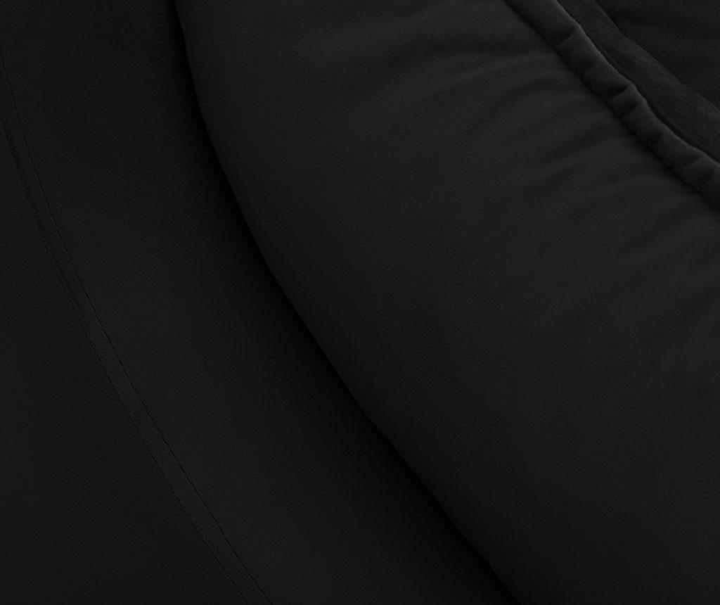 Разтегателно триместно канапе Freesia Black