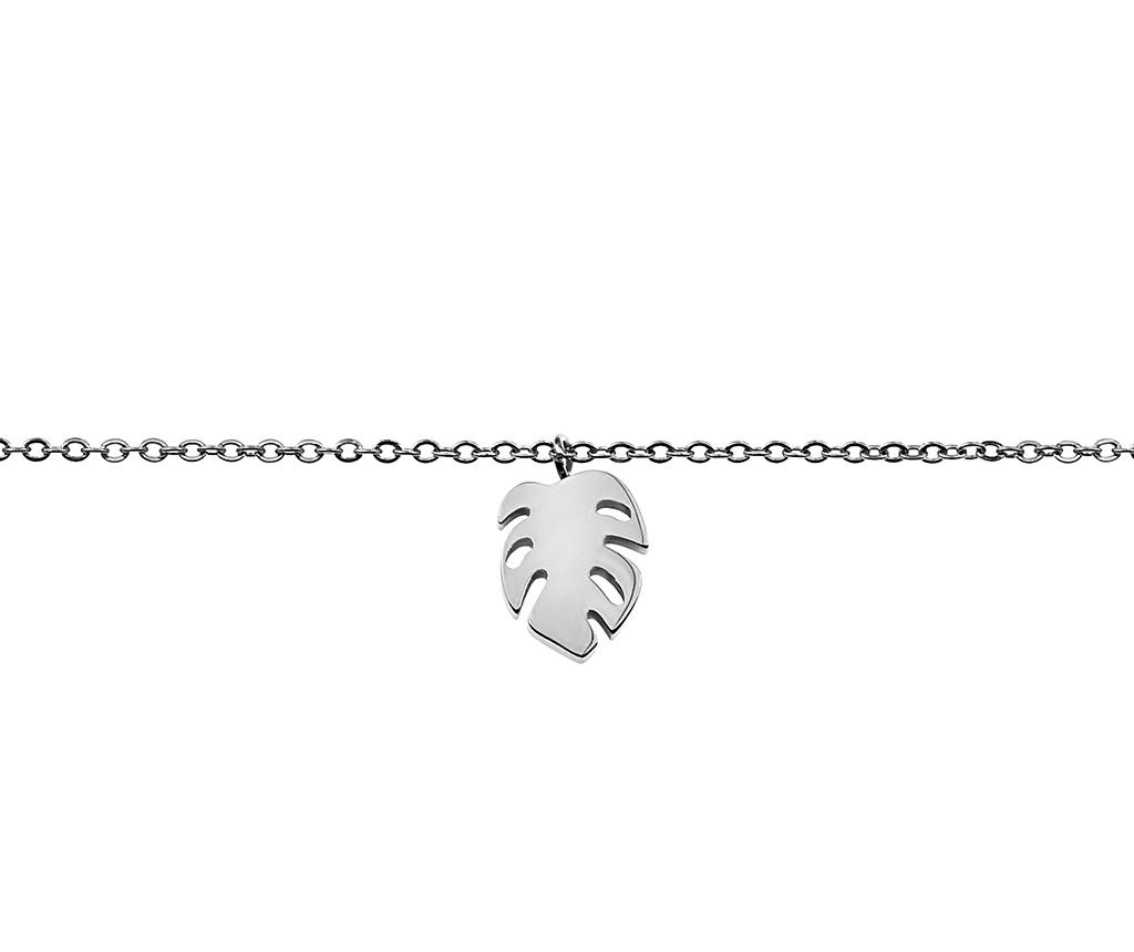 Bratara Leaf Silver