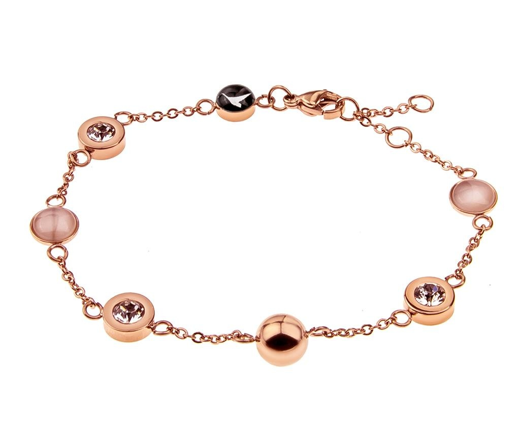 Bratara Bubbled Rose Gold