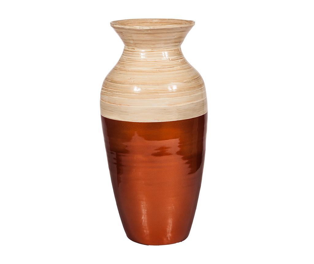 Bamboo Copper Smooth Váza