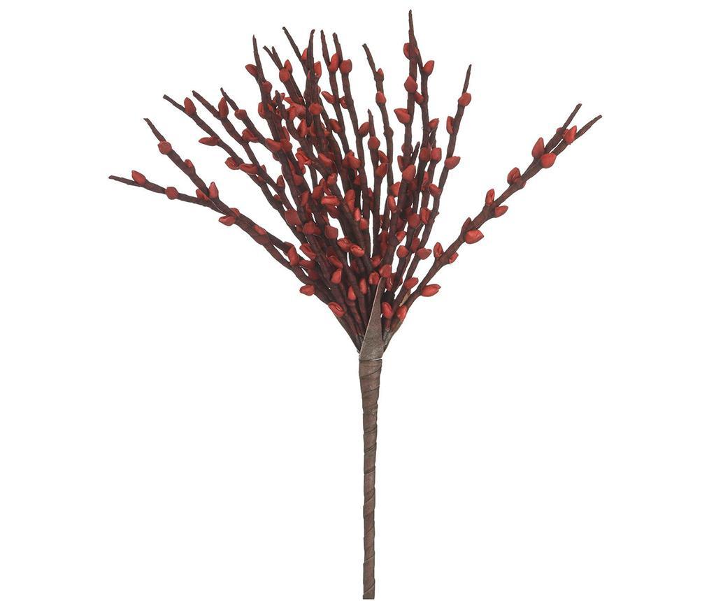 Umjetni cvijet Serra Branch Red