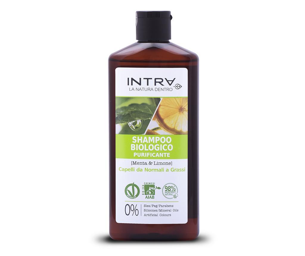 Sampon organic purificator Norma Mint&Lemon 250 ml