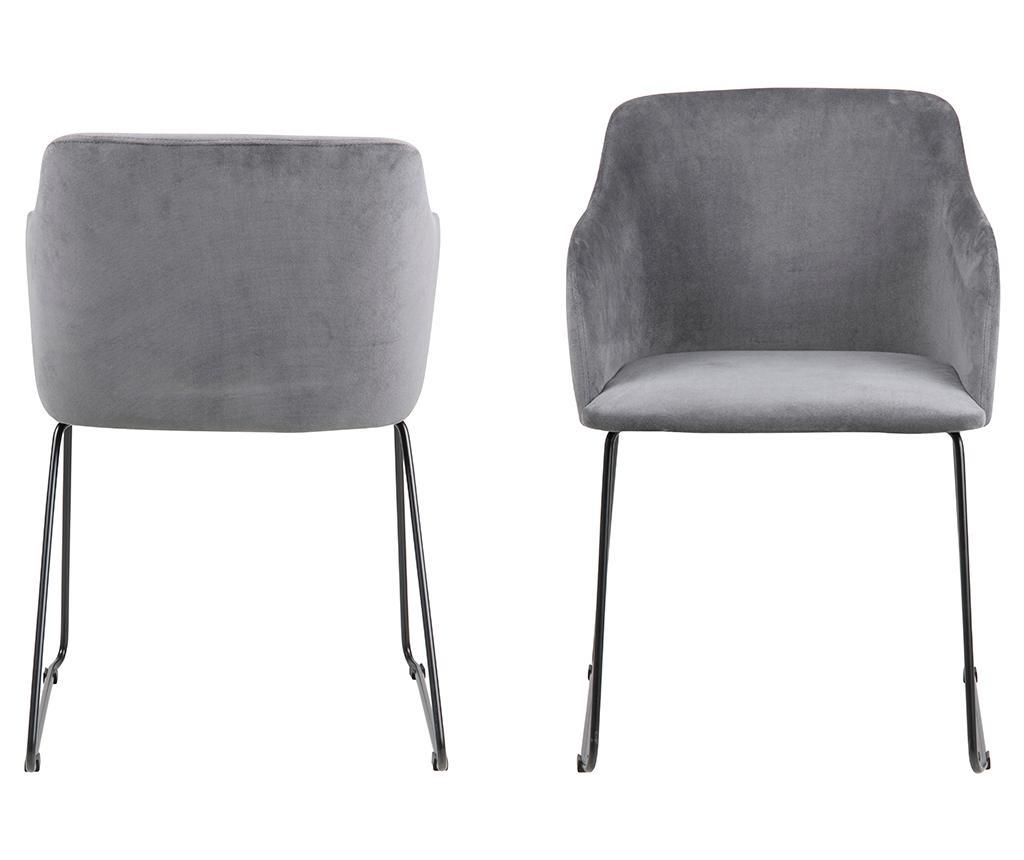 Set 2 scaune Casablanca Grey
