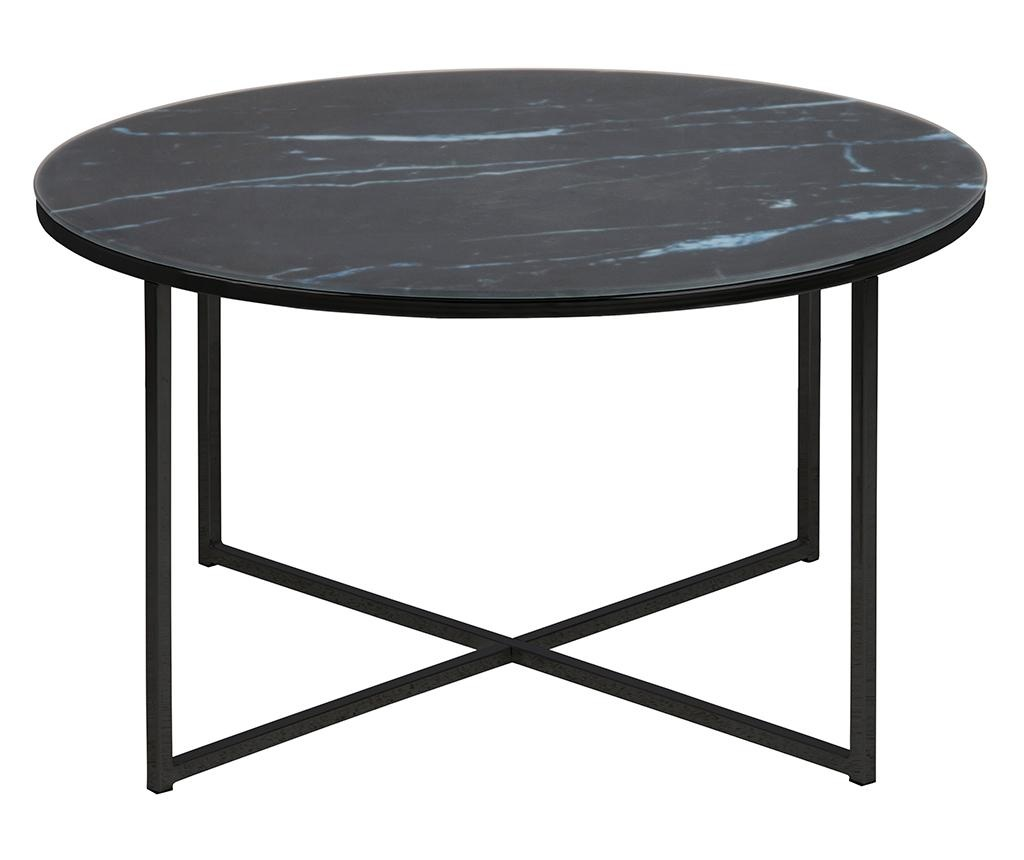 Stolić za kavu Alisma Round Black