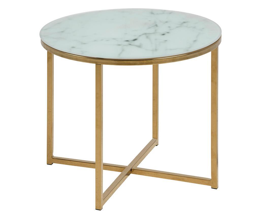 Alisma Round Short Dohányzóasztal