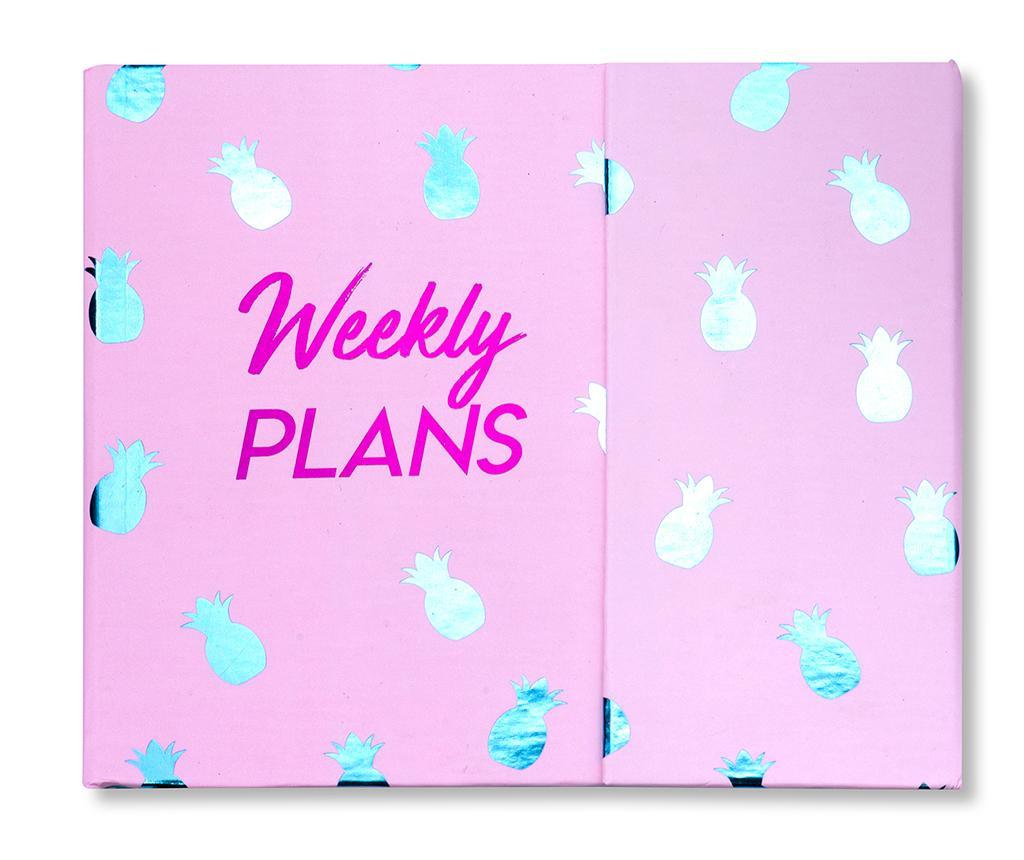 Weekly Plans Heti rendszerező