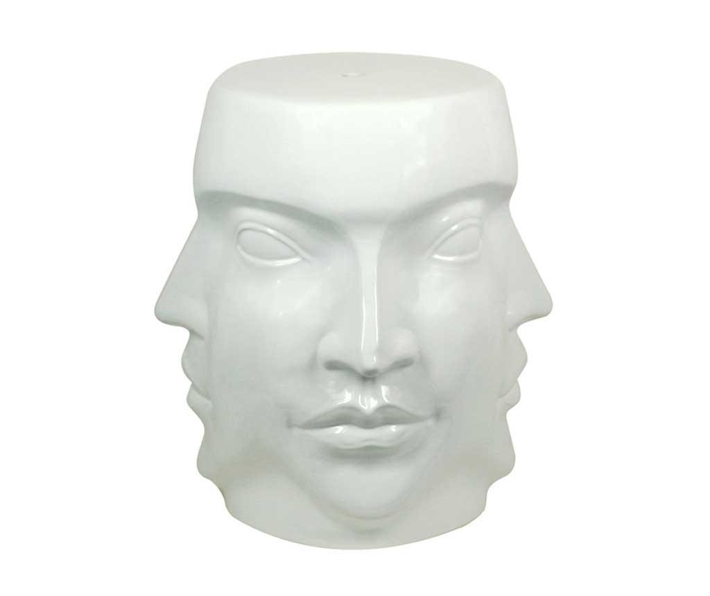 Dekorativni stolček Faces