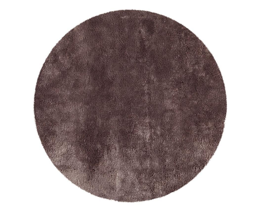 Tepih Tapp Shaggy Taupe Round 150 cm
