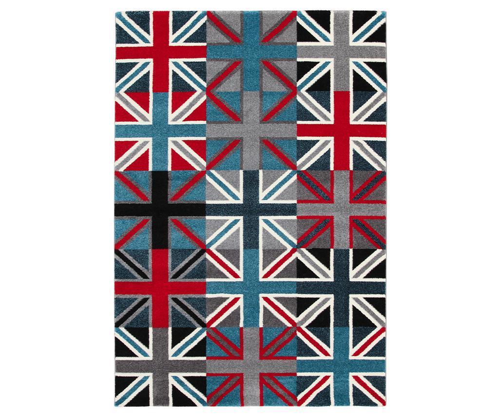 Preproga Metropolitan UK Flags He 133x190 cm