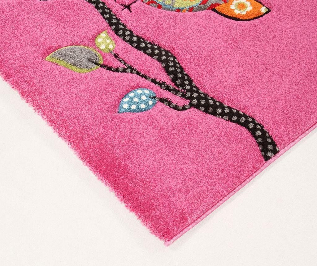 Covor Gufo Pink 133x190 cm