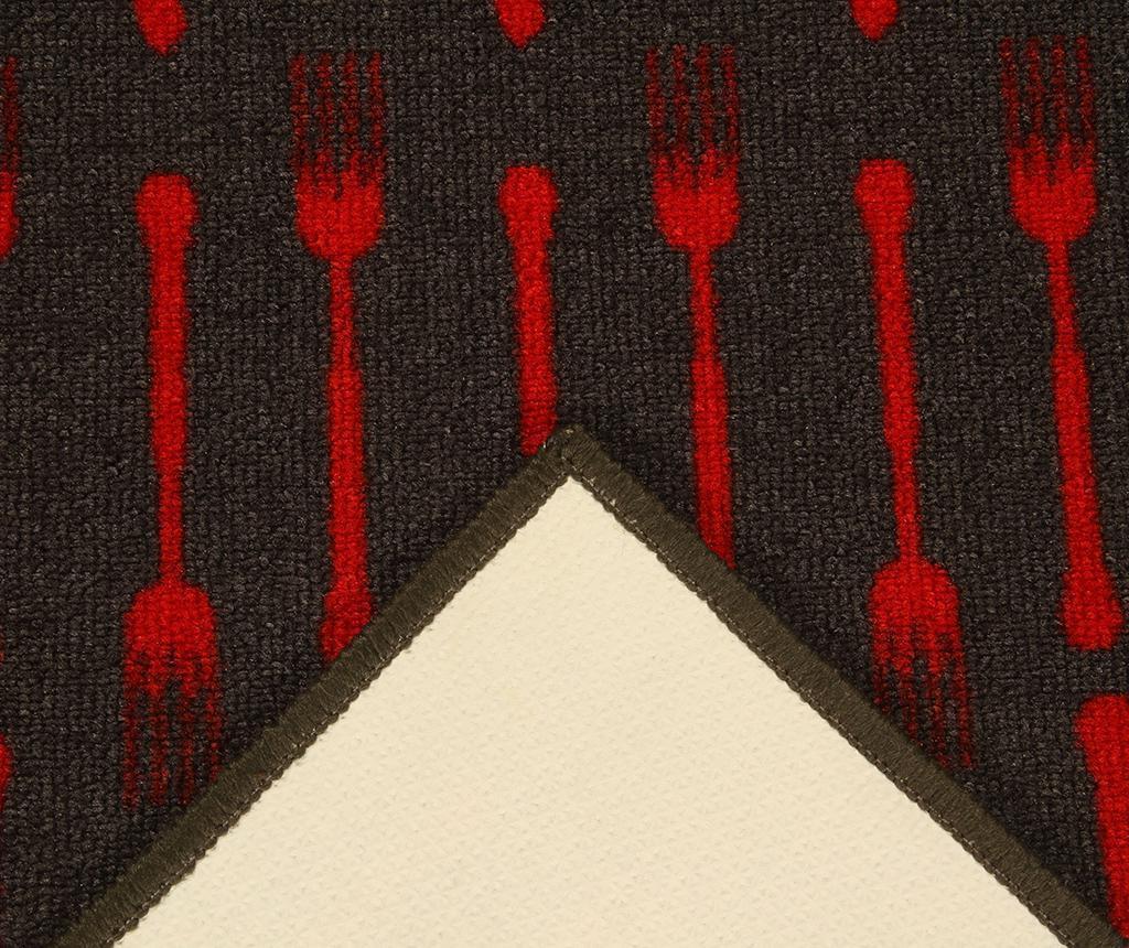 Dinner Pattern Szőnyeg 57x200 cm