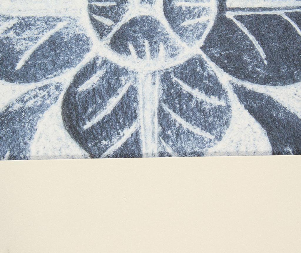Vinyl Ornament Linóleum 50x120 cm